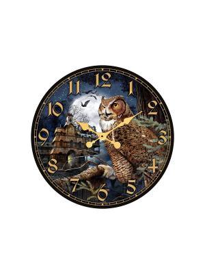 Часы настенные Михаилъ Москвинъ. Цвет: темно-синий