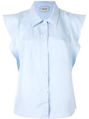 Рубашка Laurel Rachel Comey. Цвет: синий