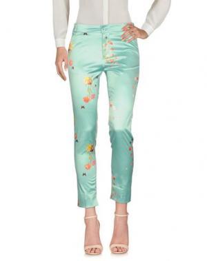 Повседневные брюки SPAGO DONNA. Цвет: зеленый