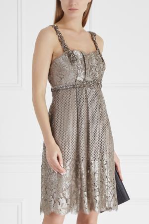 Платье Collette Dinnigan. Цвет: серый
