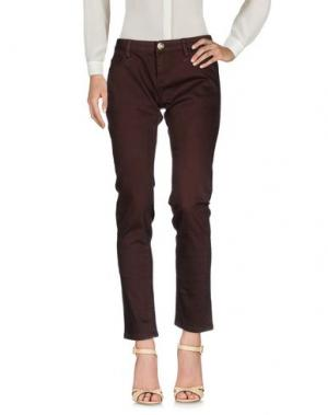 Повседневные брюки ATELIER FIXDESIGN. Цвет: какао