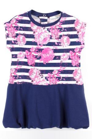 Платье Coccodrillo. Цвет: синий, розовый