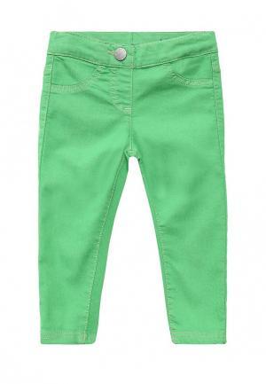 Джеггинсы United Colors of Benetton. Цвет: зеленый