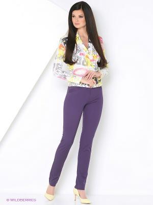 Брюки Femme. Цвет: фиолетовый