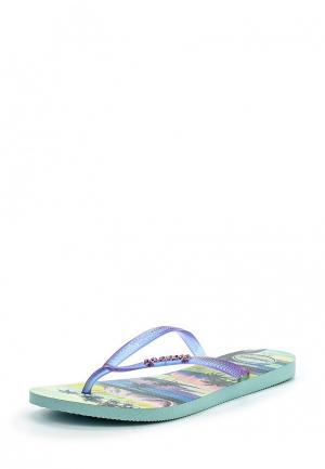 Сланцы Havaianas. Цвет: фиолетовый