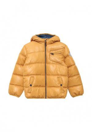 Куртка утепленная Acoola. Цвет: коричневый