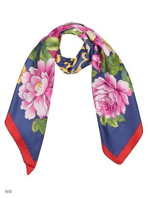 Платок Vita pelle. Цвет: темно-синий, красный, розовый, синий