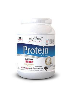 Белковая смесь Easy Body Protein ( капучино), 350г QNT. Цвет: белый