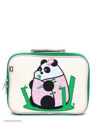 Сумка Fei - Beatrix NY. Цвет: зеленый, молочный, бледно-розовый, черный