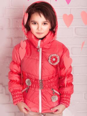 Куртка демисезонная babyAngel. Цвет: коралловый