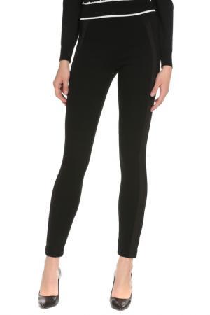 Леггинсы Givenchy. Цвет: черный