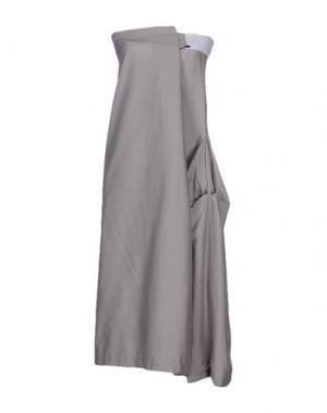 Платье до колена FALORMA. Цвет: серый