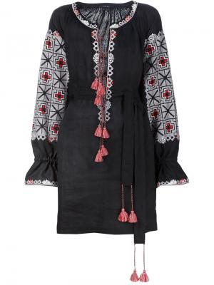 Платье с рукавами летучая мышь Vita Kin. Цвет: чёрный