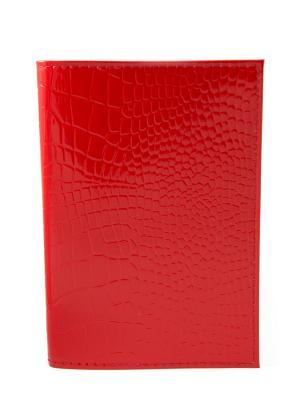 Обложка для паспорта Mitya Veselkov. Цвет: красный