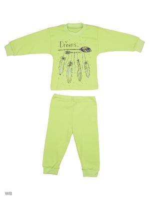 Пижамы Flip. Цвет: зеленый