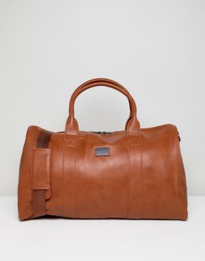 Peter Werth Светло-коричневая сумка. Цвет: рыжий