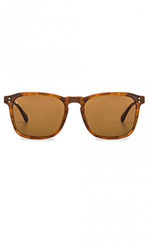 Солнцезащитные очки wiley RAEN. Цвет: коричневый