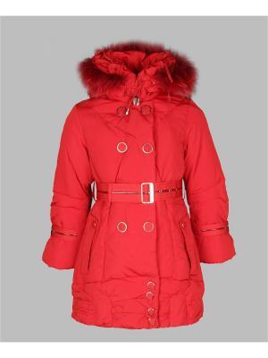 Пальто Arista. Цвет: красный