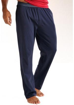 Домашние брюки LE JOGGER. Цвет: темно-синий, черный