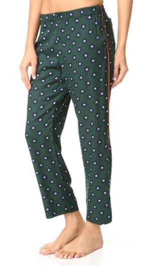 Пижамные брюки Reese LOVE Stories. Цвет: скарабей