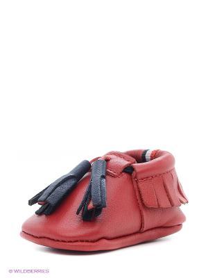 Пинетки U.S. Polo Assn.. Цвет: красный