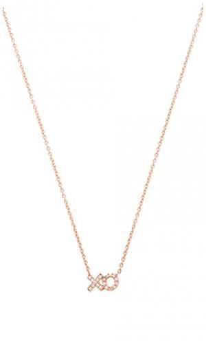 Ожерелье xo Sachi. Цвет: металлический медный
