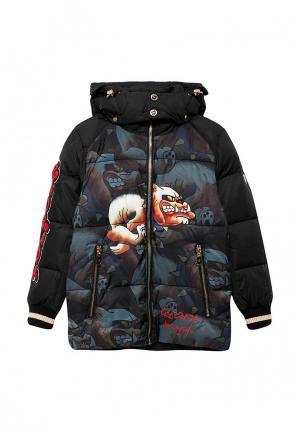 Куртка утепленная Radrada. Цвет: черный