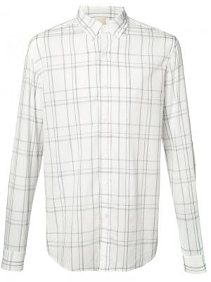 Checked shirt Baldwin. Цвет: белый