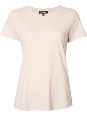 Базовая футболка Paige. Цвет: розовый и фиолетовый