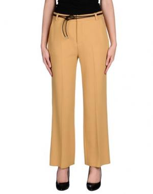 Повседневные брюки JO NO FUI. Цвет: охра
