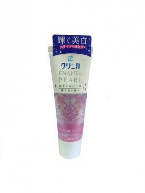 Зубная паста Lion Клиника жемчужная эмаль 130 гр.. Цвет: розовый