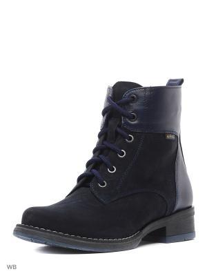 Ботинки GUT. Цвет: синий