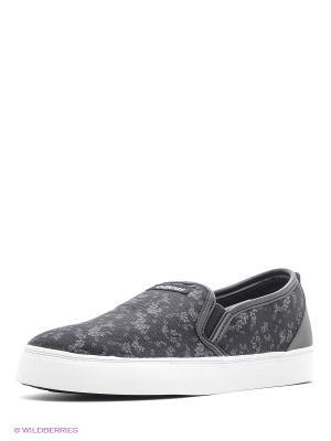 Слипоны PARK ST SLIP ON W Adidas. Цвет: черный