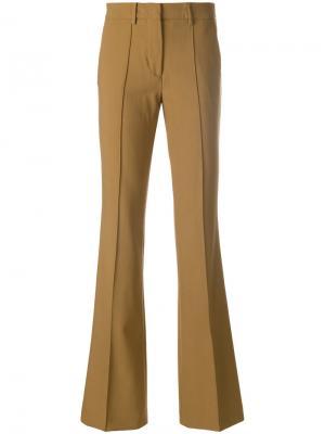 Классические расклешенные брюки Etro. Цвет: коричневый