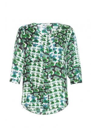 Блуза из шелка SF-167637 Gerard Darel. Цвет: зеленый