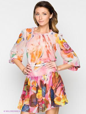 Платье Verezo. Цвет: розовый