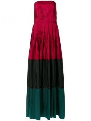 Платье Delhi Sachin & Babi. Цвет: красный