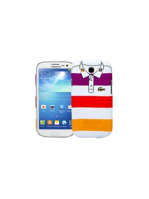 Чехол для Samsung Galaxy S3 Purple, red, yellow stripes, серия Sports shirt Kawaii Factory. Цвет: белый, фиолетовый, красный, желтый