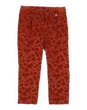 Повседневные брюки I PINCO PALLINO I&S CAVALLERI. Цвет: коричневый