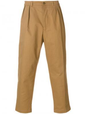 Брюки чинос Department 5. Цвет: коричневый