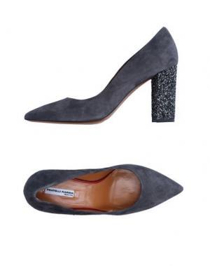 Туфли FRATELLI KARIDA. Цвет: серый