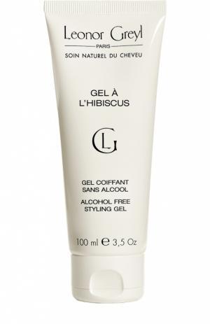 Гель для укладки волос с гибискусом Leonor Greyl. Цвет: бесцветный