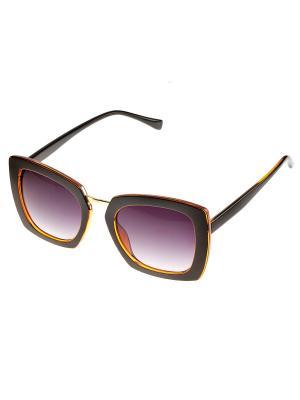 Солнцезащитные очки. Bijoux Land. Цвет: черный, оранжевый