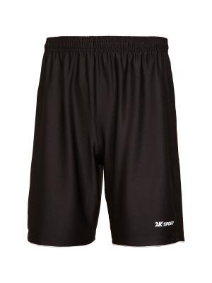 Футбольные шорты Champion II 2K. Цвет: черный, белый