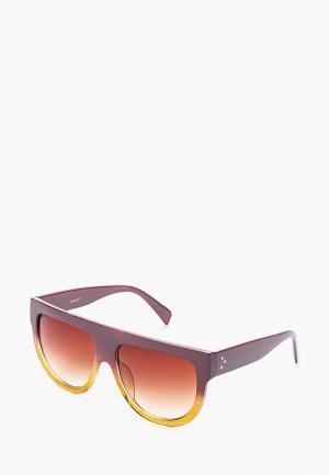 Очки солнцезащитные Vitacci. Цвет: фиолетовый