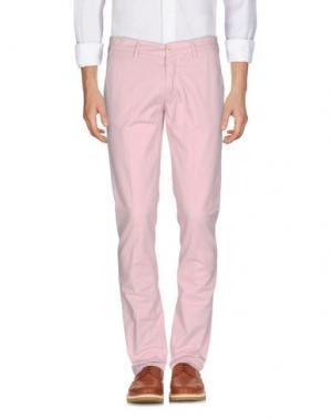 Повседневные брюки BARBATI. Цвет: розовый