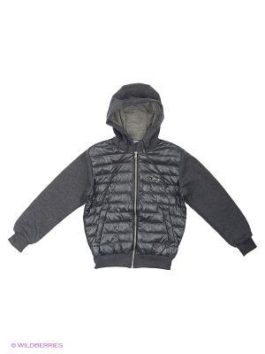 Куртка OVAS. Цвет: темно-серый