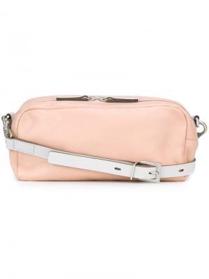 Сумка через плечо Amy Ally Capellino. Цвет: розовый и фиолетовый