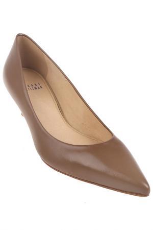 Туфли Stuart Weitzman. Цвет: коричневый