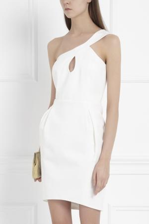 Асимметричное платье Jill Stuart. Цвет: белый